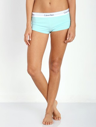 Calvin Klein Modern Cotton Boyshort Summer Pine