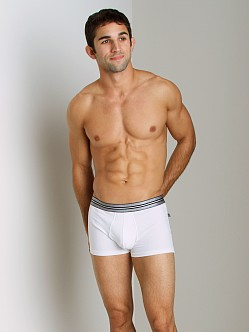 JM Action Pouch Boxer White