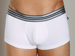 JM Action Low Rise Pouch Trunk White