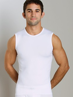 JM Skinz Muscle Shirt White