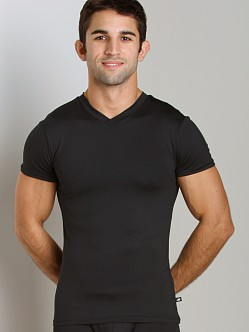 JM Skinz V-Neck Shirt Black