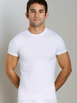 JM Skinz Crew Neck Shirt White
