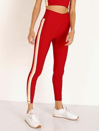 Spiritual Gangster 7/8 Legging Dahlia Red
