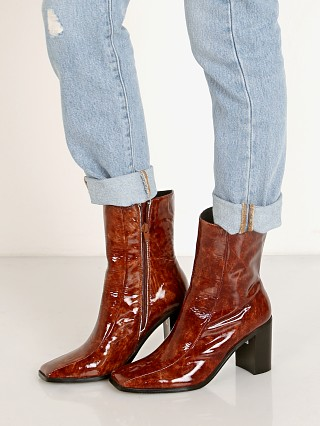 Complete the look: Jaggar Bold Ankle Boot Chocolate