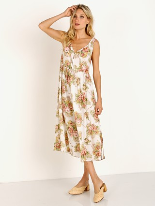 Auguste the Label Bonnie Beachside Midi Dress Off White