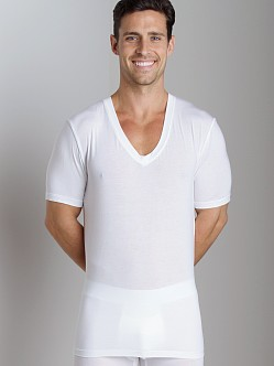 Tommy John Second Skin V-Neck White