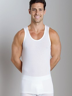Tommy John Second Skin Tank Top White