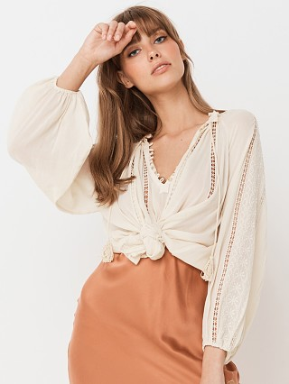 Complete the look: Spell & The Gypsy Loves Me Not Blouse Cream