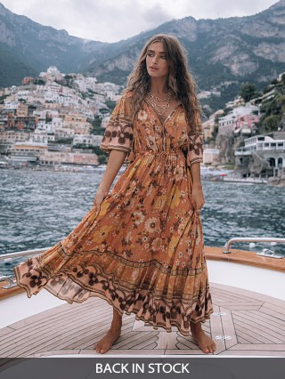 Spell & The Gypsy Buttercup Gown Sunrise