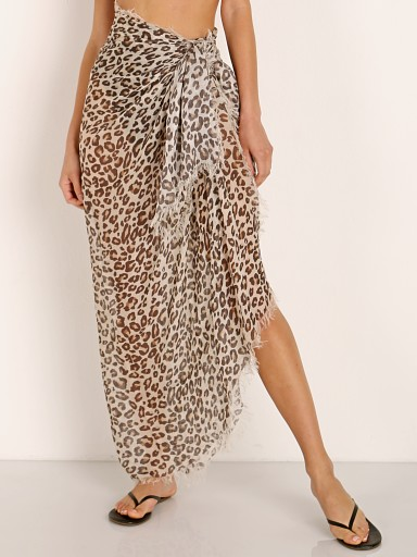 Spell & The Gypsy Bodhi Leopard Travel Scarf