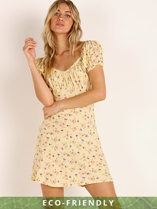 Auguste the Label Eloise Penn Mini Dress Yellow
