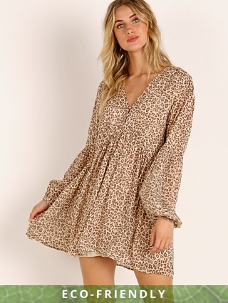 Auguste the Label Nomad Helena Mini Dress Tan