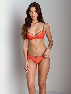 Claudette Dessous Thong Papaya