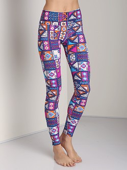 Onzie Long Legging Aztec