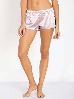 SKIVVIES by For Love & Lemons Le Fleur Night Shorts Champagne/Iv