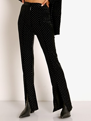 For Love & Lemons Larissa Flare Pant Black