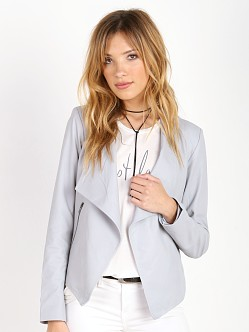 BB Dakota Harper Soft Lamb Leather Jacket Dove Grey