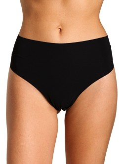 Commando High Rise Thong Black