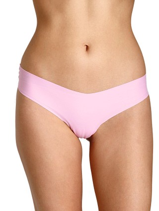 Commando Cotton Thong Prism Pink