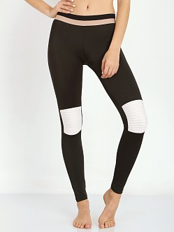 Olympia Activewear Moto Leggings Jet/Bone
