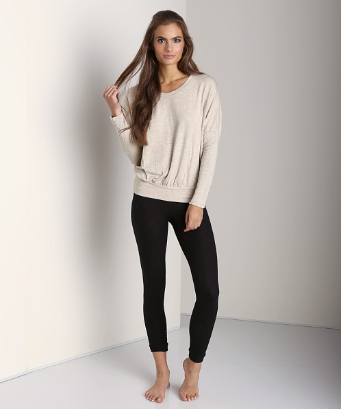 Eberjey Cozy Time Legging Black