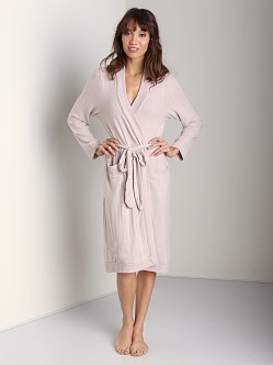 Eberjey Cozy Time Robe Pink Clay