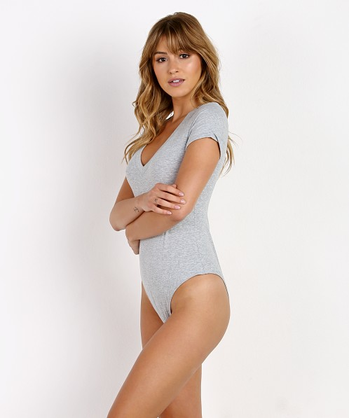 Ash & Ember The Corona Bodysuit Grey