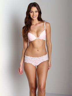 Cosabella Never Say Never Sexie Push Up Bra Pink Lily