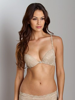 Cosabella Never Say Never Sexie Push Up Bra Warm Taupe