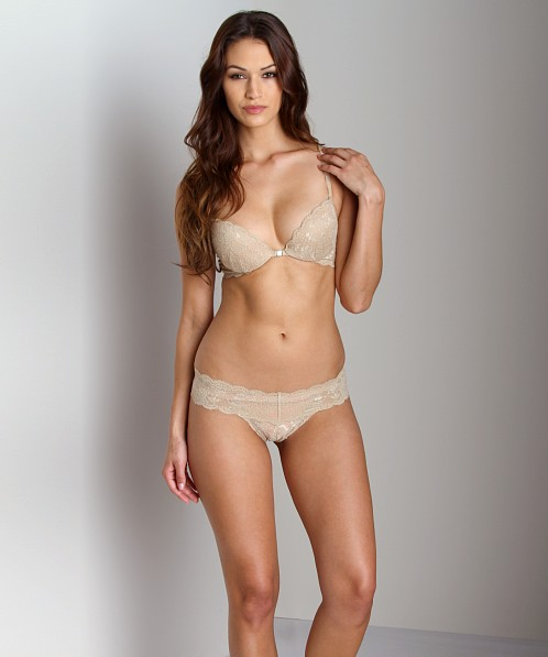 Cosabella Never Say Never Cutie Warm Taupe