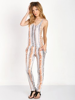 Tallow Polyphonic Jumpsuit Polka Mix