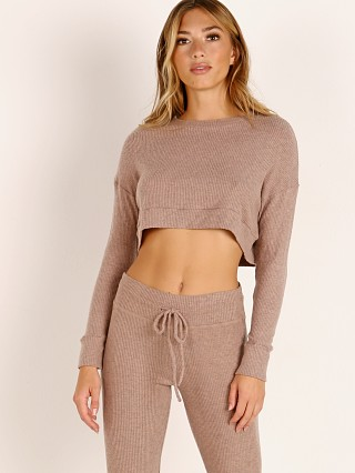 You may also like: Beyond Yoga Cropped Pullover Tinted Rose