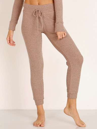 Beyond Yoga Lounge Around Midi Jogger Tinted Rose
