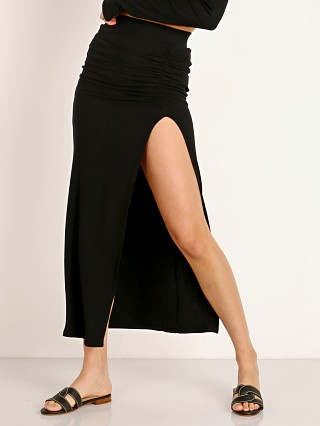 Stillwater Rib Maxi Skirt Black