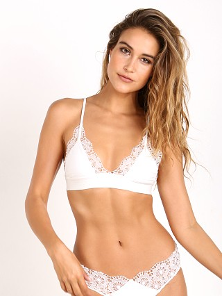 For Love & Lemons Maldives Triangle Top Ivory