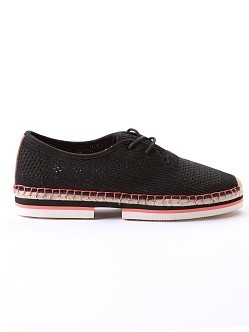 Joy & Mario Sporty Espadrille Windansea Black