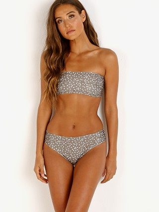 Zulu & Zephyr Shade Bandeau Bikini Set Avocado Dot