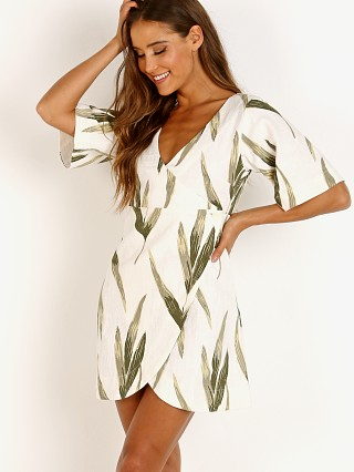 Model in canopy print Zulu & Zephyr Canopy Dress