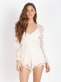 Jen's Pirate Booty Ara Playsuit White