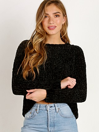Bella Dahl Slouchy Sweater Black