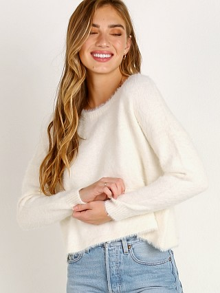 Bella Dahl Slouchy Sweater Winter White