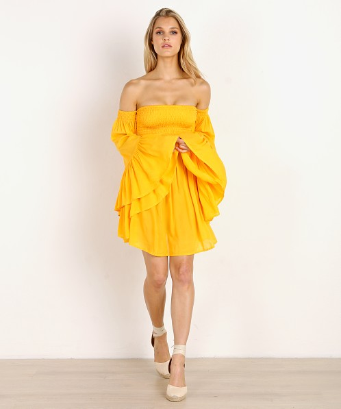 Indah Blair Mini Dress Marigold
