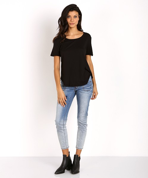 Splendid Very Light Jersey Tee Black