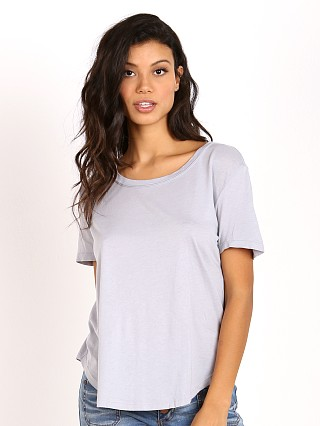 Splendid Very Light Jersey Tee Dove Grey