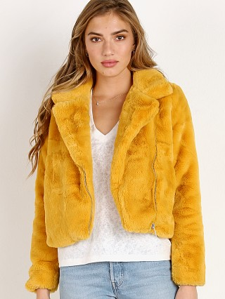 APPARIS Leila Jacket Mustard