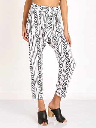 Auguste Luxe Drop Crotch Pants Classic Boheme Stripe