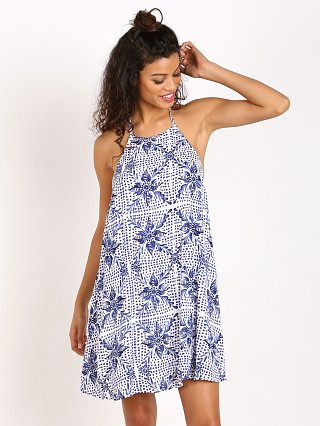 Show Me Your Mumu Katy Halter Dress Myko Niko Cloud