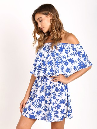 Show Me Your Mumu Casita Mini Dress Senorita Bluebird Cloud
