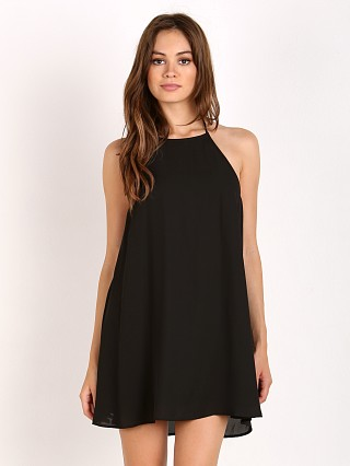 Show Me Your Mumu Katy Halter Dress Black