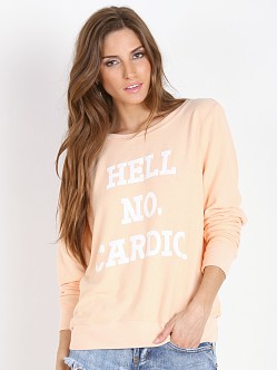 WILDFOX No Cardio Baggy Beach Jumper